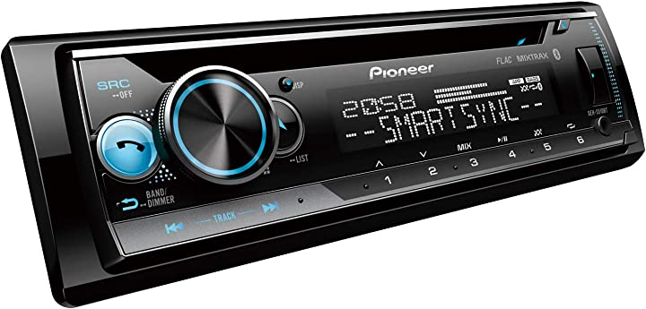 Autoradio, m. bluetooth & vario color pioneer electronics deh-s510bt