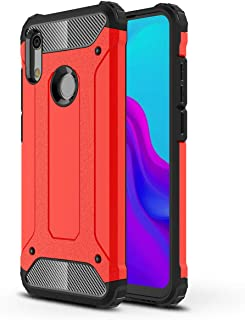 FanTing Case for Huawei Y6s (2019), [ Shockproof] [Heavy Duty] [Tough Armoured] Generous Rugged Tough Dual Layer Armor Cas...