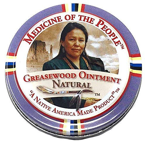 Greasewood Ointment Natural Salve For Various Skin Conditions Eczema Psoriasis Athlete's Foot by Medicine of The People (3 OZ)