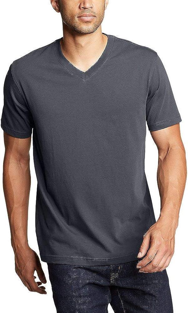Eddie Bauer Men's Eddie's Short-Sleeve V-Neck T-Shirt