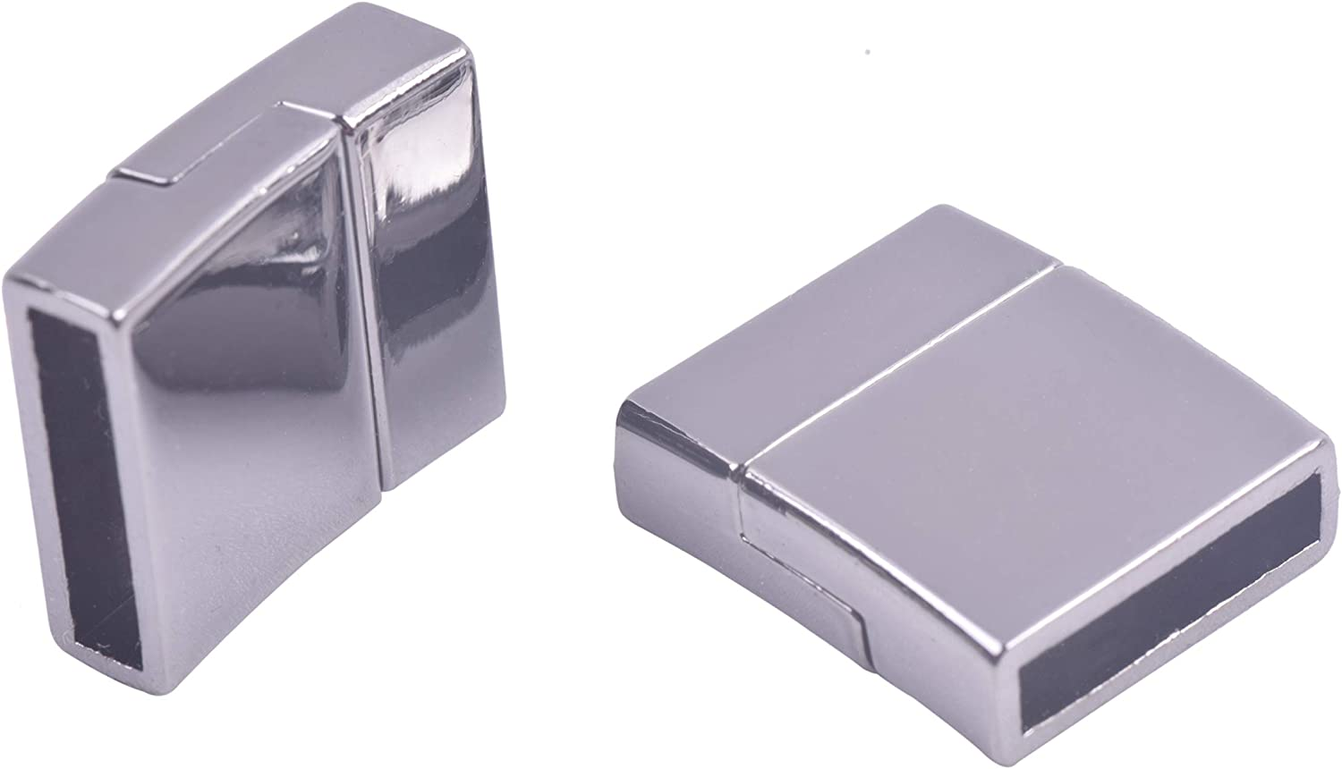 KONMAY 5 Sets 15.x3.0mm Spasm price Gunmetal Ranking TOP13 Jewelry Glue-in Magn Flat Style