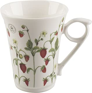 "Royal Botanic Gardens, Kew ""Strawberry Fayre"" Fine China Mug by Creative Tops"