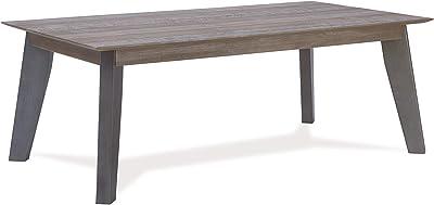 Möbel & Wohnaccessoires Couchtische Trend Home Couchtisch weiß skandinavisch nordisch Design Teetisch Beine Buche geölt Rose