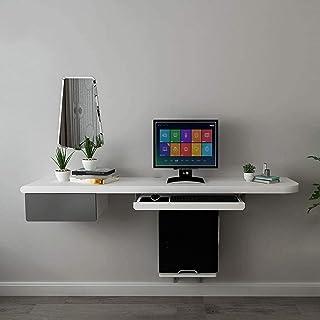 CABINA HOME Scrivania per Computer moderna scrivania da ufficio con mensola per monitor con ripiani portaoggetti marrone rustico postazione di lavoro con libreria aperta per ufficio in casa