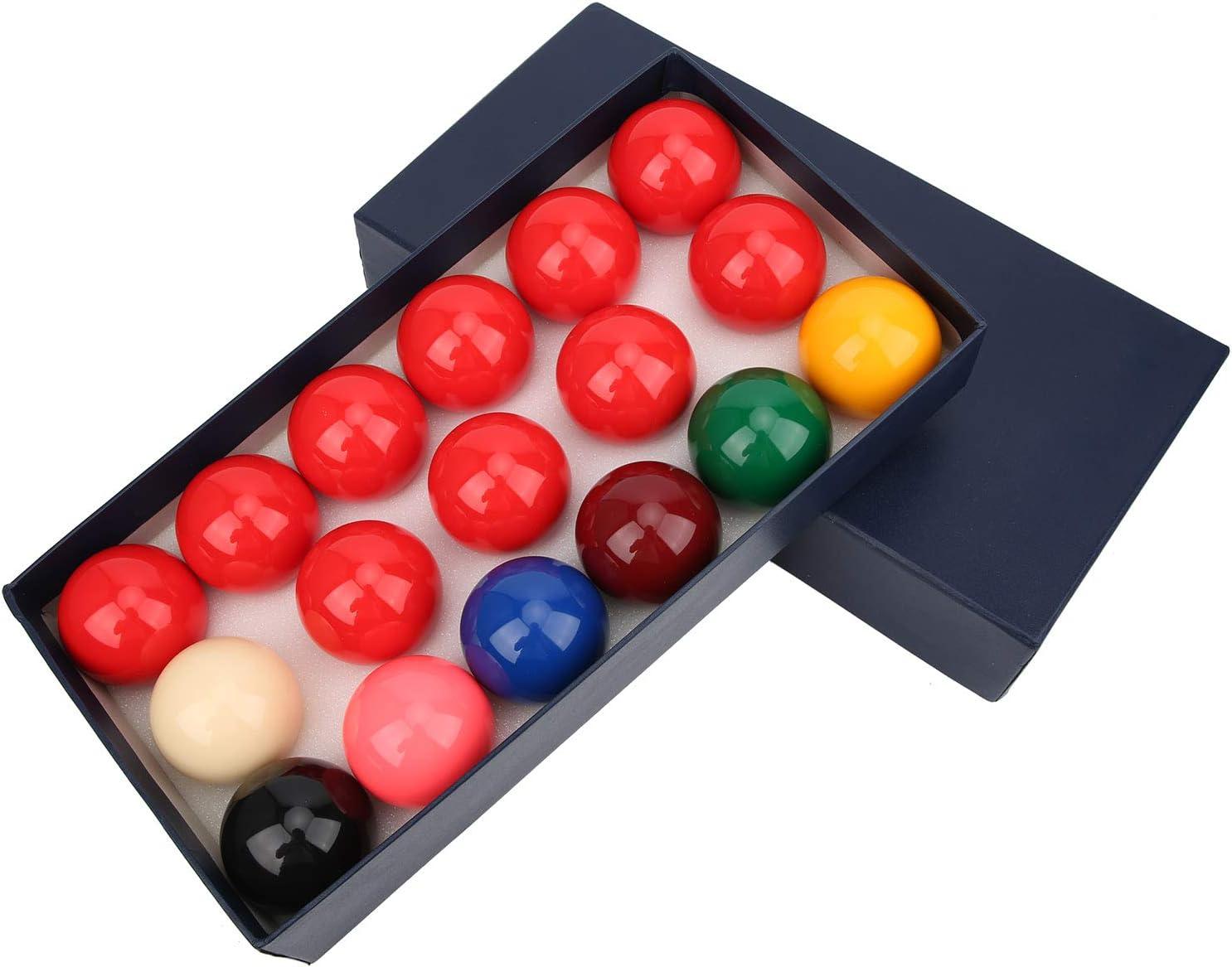 KIRSTHM Luxury Billiard Balls 1Set Snooker Billiards 5 Pool Selling rankings Sports Cue
