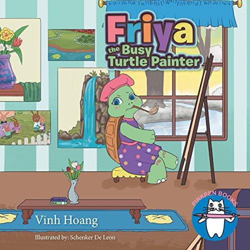Friya the Busy Turtle Painter (English Edition)