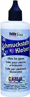 Kreul 49602 – Schmucksteinkleber, 125 ml Flasche, auf Wasserbasis hergestellt,..