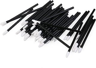 ROSENICE 使い捨て リップブラシ 化粧リップ ブラシ 150pcs(ブラック)