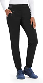 Grey's Anatomy Spandex-Stretch Jogger Pant for Women - Easy Care Medical Scrub Pant