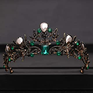 Vintage Tiara Wedding Crown Bridal Diadem Gold Crystal Rhinestone Head Jewelry Headpiece Wedding Hair Accessories|Hair Jewelry|Jewelry & Accessories