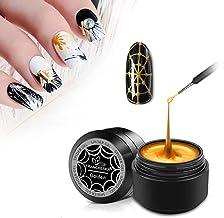 Rongchuang Nail Art Elastische Tekening Gel Nail Tekening Gel,DIY Draad Tekening Nail Gel Nail Dotting Tool voor Line Nail...