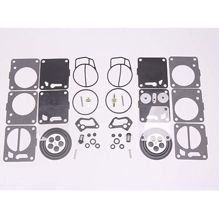 Venom Brand SeaDoo Mikuni Carburetor Rebuild Kit /& Needle Seat /& Base Gasket Compatible With Sea-Doo, Fits 92-96 GTS, 91-96 SP /& 93-96 SPI