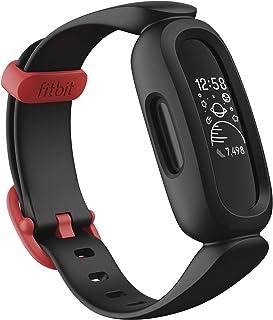 Fitbit フィットビット フィットネストラッカー Ace 3 お子様向け 8日間のバッテリーライフ ブラック×スポーツレッド【日本正規品】FB419BKRD-FRCJK