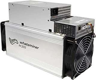 DragonX Whatsminer M20S 68TH/S BTC ASIC Miner Machine 3360W Bitcoin Miner PSU Included(200V-240V Power Input Required)