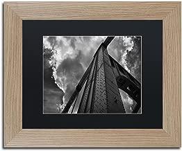 Andy Warhol Bridge by Jason Shaffer, Black Matte, Birch Frame 11x14-Inch