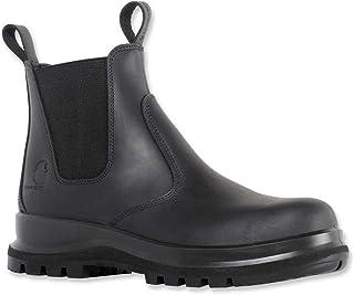 Carhartt Mens Chelsea Hydro Oliato pelle stivali di sicurezza