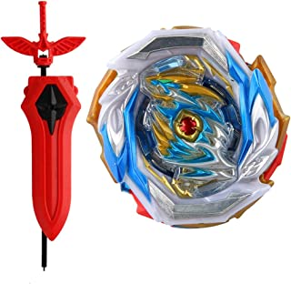 Bey Battling Top Burst Starter Strong Spinning Top Toy B-154 DX Imperial Dragon with LR Launcher(Red)