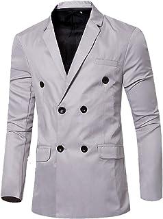 Legou Men's Casual Slim Fit Candy Colors Blazer Suit Jacket