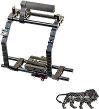 "Shootvilla 9"" Brackets Support Cage + Top Handle Grip 15mm Rod for DSLR Camera (SV-9INCHC)"