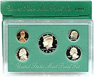 1994 S US 5 Piece set Proof In original packaging from US mint Proof