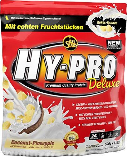 All Stars Hy-Pro Deluxe Protein, Kokos-Ananas, 1er Pack (1 x 500 g)