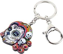 YCEOT Acryl Halloween Skeleton Schedel Sleutelhang...