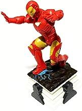 Homem de Ferro sobre Base Decorativo Peça de Xadrez + Adesivo - 8cm