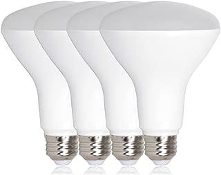 Maxxima LED BR30 75 Watt Equivalent Dimmable 11 Watt LED Light Bulb Neutral White 950 Lumens Energy Star, 4000K (Pack of 4)