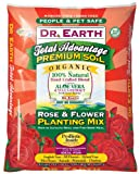 Dr. Earth 805 1-1/2 Cubic Feet Rose and Flower Planting Mix