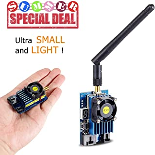 Transmisor Flysight TX5812-SMA 1200mW 5.8Ghz 32CH FPV Transmisor de video de largo alcance 6-16V Potencia de salida Transmisor FPV 5.8 Litro Brother of Flysight Black Mamba 5.8Ghz 2W