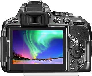 BYbrutek Protector de Pantalla de Vidrio Templado para Nikon D5300/D5500 03 mm Ultratransparente Lámina de protección LCD con Dureza 9H Antiarañazos sin Burbujas Antihuellas (D5300/D5500)