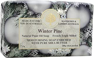 Wavertree and London Australian Natural Luxury Soap Bar 7 Ounces (Winter Pine)
