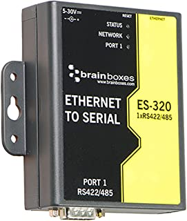 Brainboxes ES320 Device Server 10MB LAN, 100MB LAN, RS422, Rs485 (ES-320)