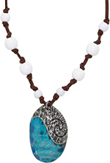 Neon Tuesday Disney Moana Heart of Te Fiti Replica Necklace