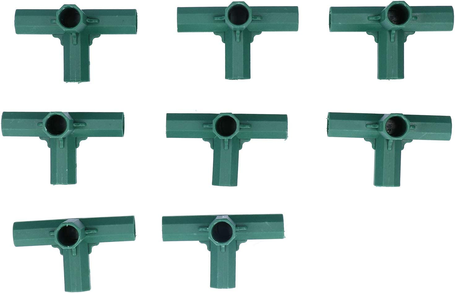 Yosoo 8Pcs Right Angle All items in the store 4 Way Connector All items in the store Stake 16mm Plant Support
