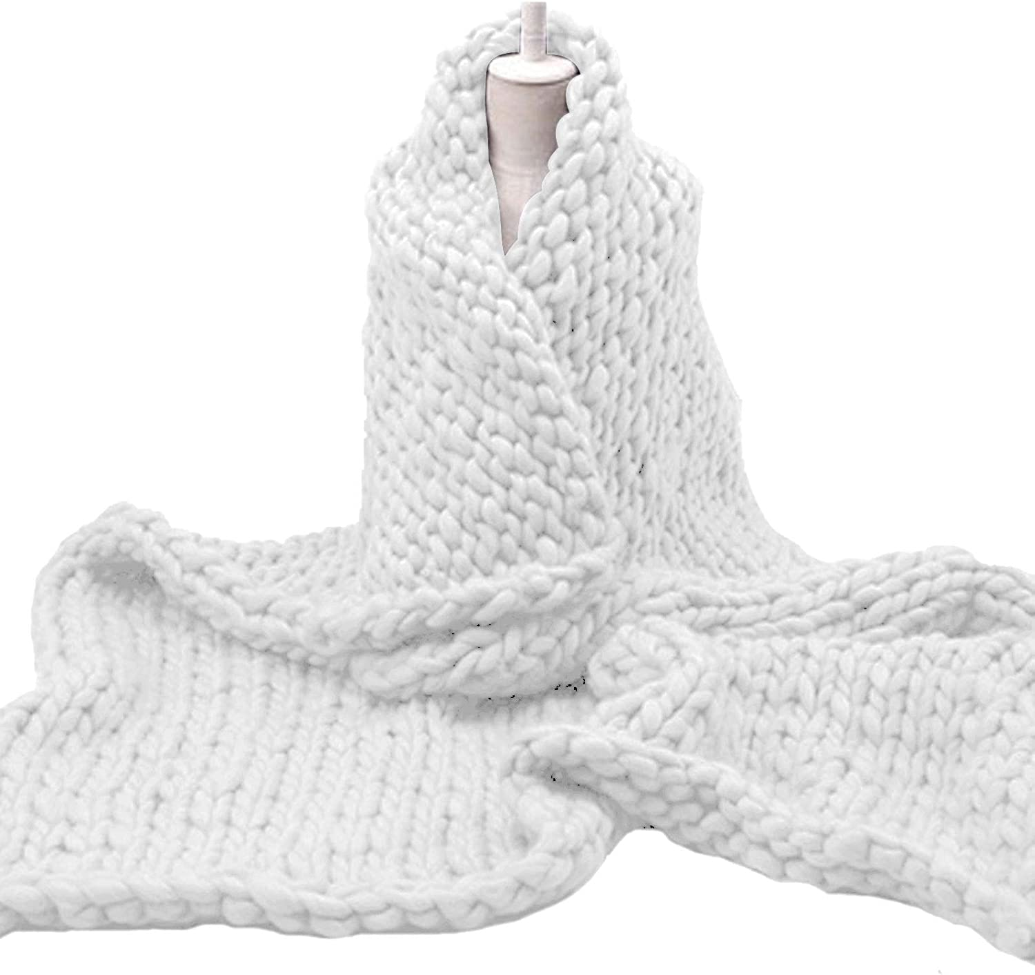Chunky Knit Blanket Handwoven San Jose Mall Soft Cozy So Throw Bed Atlanta Mall for