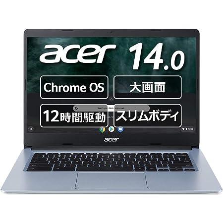 Google Chromebook Acer ノートパソコン CB314-1H-A14P 14インチ 日本語キーボード Celeron<R> N4020 4GBメモリ 64GB eMMC microSD<TM> カードリーダー