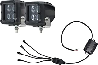 HELLA 357212111 ValueFit RGB Northern Lights Series (2) Cube LED Light Kit, 4 Light Controller Included