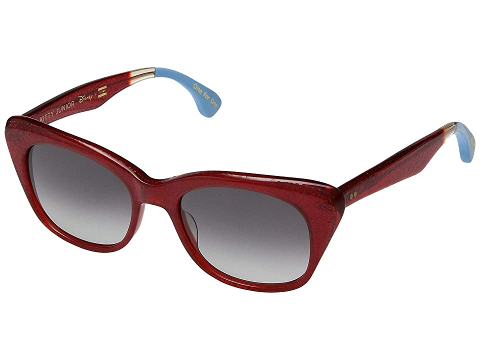TOMS Disney(r) Kitty Junior (Red Glitter) Fashion Sunglasses