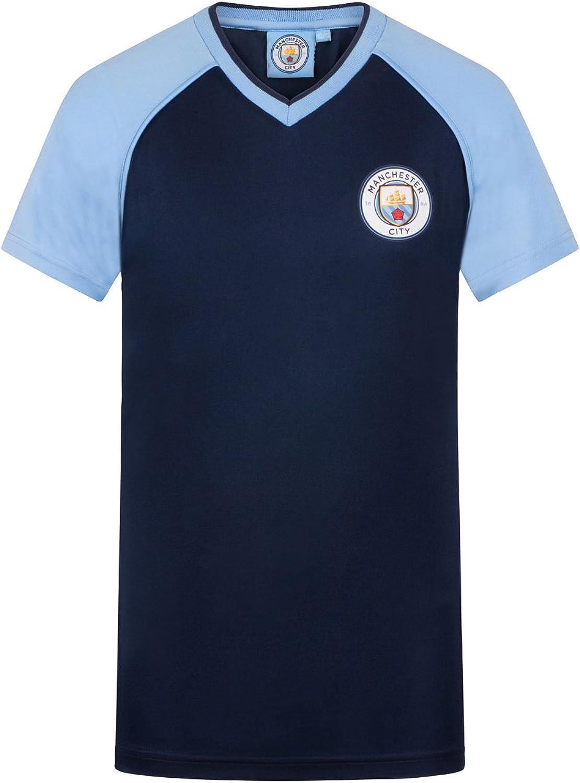 Manchester City F.C Maillot de football d/'entra/înement pour gar/çon