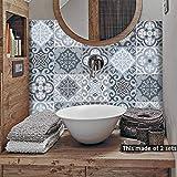 alwayspon Floor Wall Tile Transfers Sticker for Home Decor, Peel & stick self-adhesive splashback, Tile Decals...