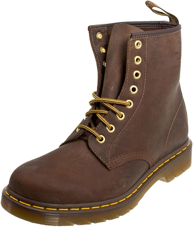 8aa7d0616a67 Dr. Martens Martens Martens 1460 Crazy Horse Unisex Aztec Brown Leather  Ankle Boots, 13 f83347