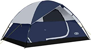 Pacific Pass 4 Person Family Dome Tent with Removable...