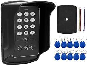 Keyboard 10 Tag Card Reader, Access Controller, Doorbell for Home Security System Villa Apartments Office