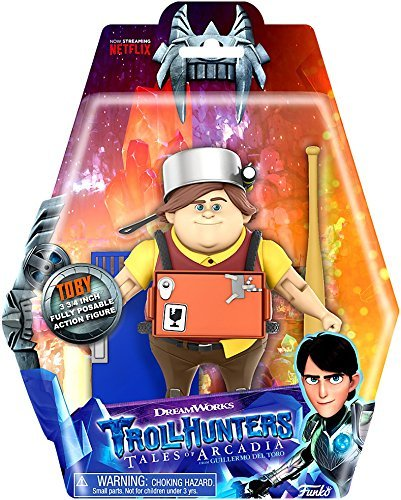Funko - Dreamworks Trollhunters Tales of Arcadia - TOBY - 3 3/4 Inch Fully Posable Action Figure