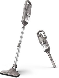 Geemo(ギーモ) G130 コードレス 掃除機 二つモード 10000Pa強吸引力 高密度HEPAフィルター 伸縮型 2way ハンディ スティッククリーナー 軽量 (グレー)