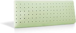 Almohada Ecológica Perforada - Viscoelástica - Modelo Jabón - Súper Transpirable - Hipoalergénica - Doble Funda 100% Algodón