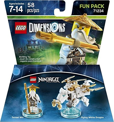 Ninjago Sensei Wu Fun Pack - LEGO Dimensions by Warner Home Video - Games