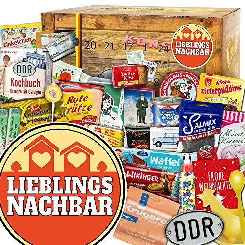 Lieblingsnachbar + Ostalgie Adventskalender + Weihnachtskalender Geschenkidee