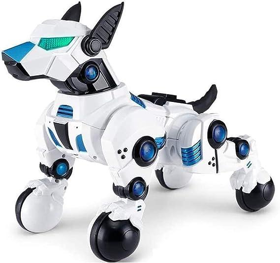 Erster Kleiner Interaktiver Roboter digi bits dog 18 cm Tanzt Spricht Codierbar
